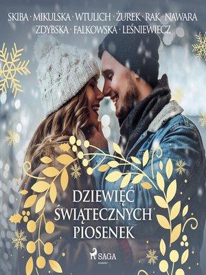 cover image of Dziewięć świątecznych piosenek