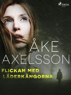 cover image of Flickan med läderkängorna