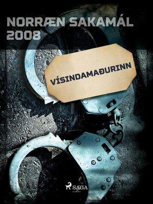 cover image of Vísindamaðurinn