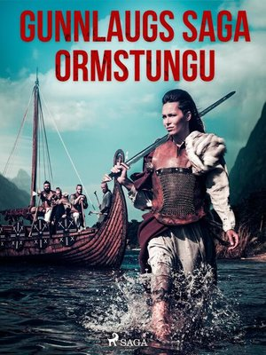 cover image of Gunnlaugs saga ormstungu