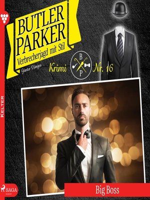 cover image of Butler Parker, 16