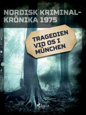 cover image of Tragedien vid OS i München