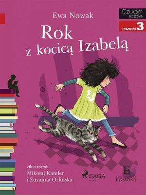 cover image of Rok z kocicą Izabelą