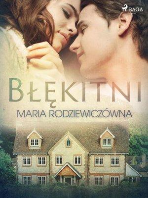 cover image of Błękitni
