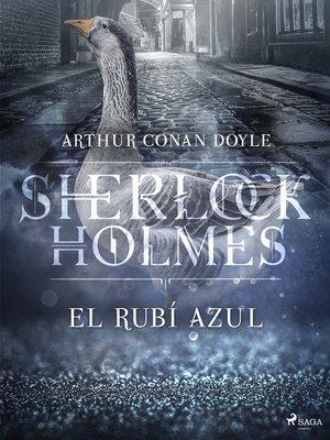 cover image of El rubí azul