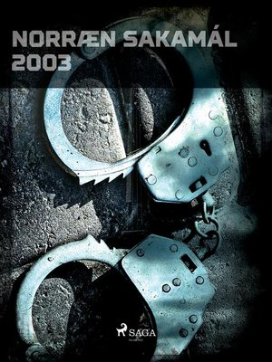 cover image of Norræn Sakamál 2003