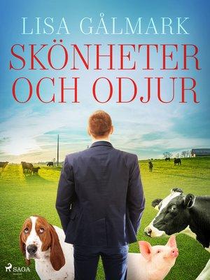 cover image of Skönheter och odjur