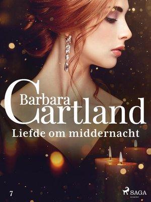 cover image of Liefde om middernacht