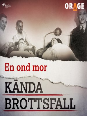 cover image of En ond mor