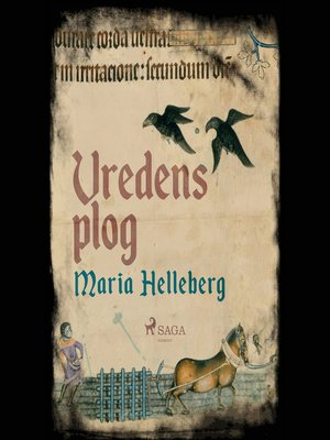 cover image of Vredens plog