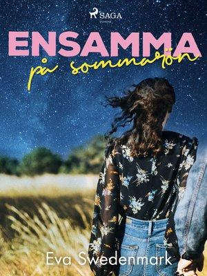 cover image of Ensamma på sommarön