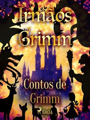 cover image of Contos de Grimm