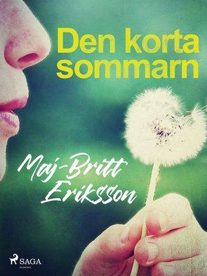 cover image of Den korta sommarn