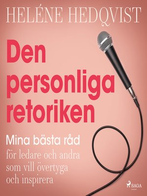 cover image of Den personliga retoriken