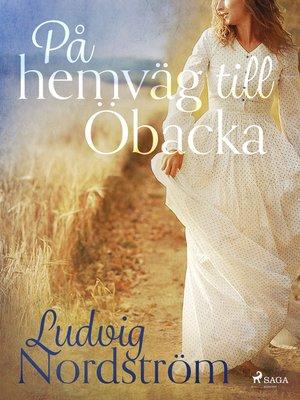 cover image of På hemväg till Öbacka