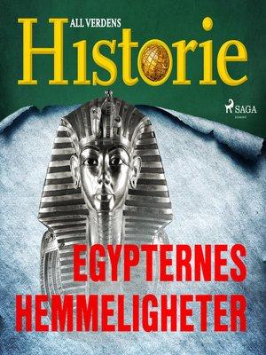 cover image of Egypternes hemmeligheter