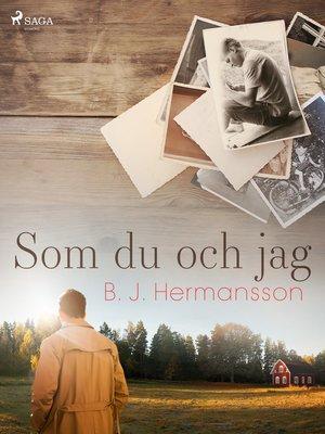 cover image of Som du och jag