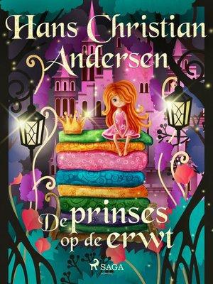 cover image of De prinses op de erwt