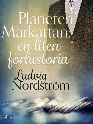 cover image of Planeten Markattan
