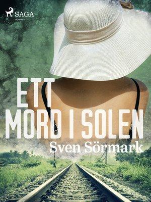 cover image of Ett mord i solen
