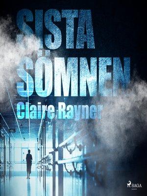 cover image of Sista sömnen