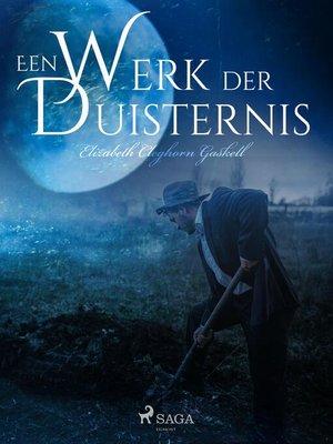 cover image of Een werk der duisternis