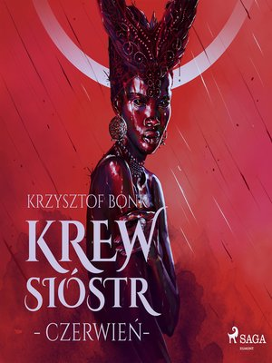 cover image of Krew Sióstr. Czerwień VIII