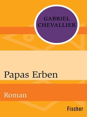 cover image of Papas Erben