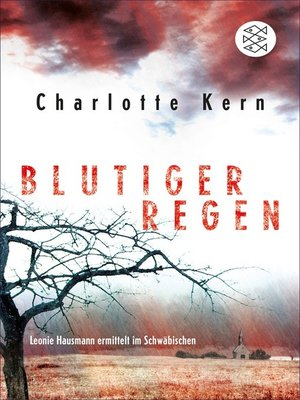 cover image of Blutiger Regen