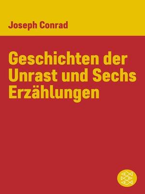 cover image of Geschichten der Unrast und Sechs Erzählungen