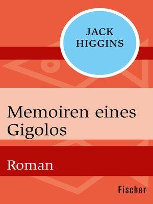 cover image of Memoiren eines Gigolos