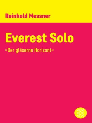 cover image of Everest Solo