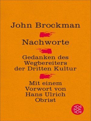 cover image of Nachworte