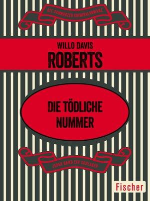 cover image of Die tödliche Nummer