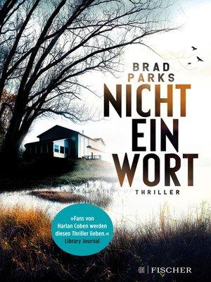 cover image of Nicht ein Wort