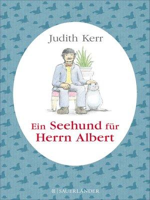 cover image of Ein Seehund für Herrn Albert