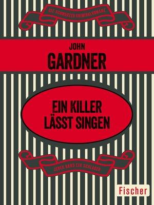 cover image of Ein Killer lässt singen