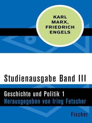 cover image of Studienausgabe in 4 Bänden