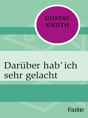 cover image of Darüber hab' ich sehr gelacht