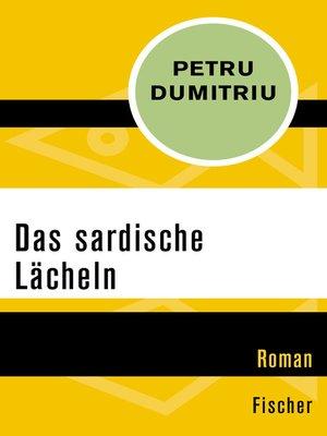 cover image of Das sardische Lächeln