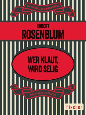 cover image of Wer klaut, wird selig