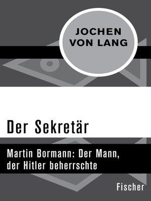 cover image of Der Sekretär