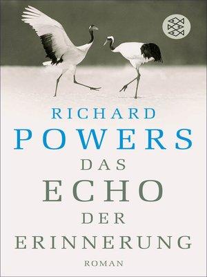 cover image of Das Echo der Erinnerung