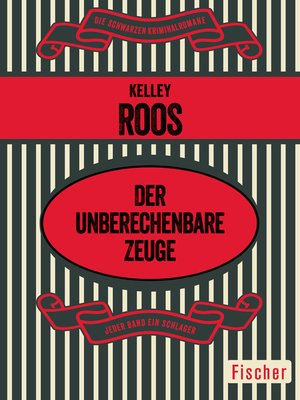 cover image of Der unberechenbare Zeuge