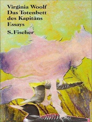 cover image of Das Totenbett des Kapitäns
