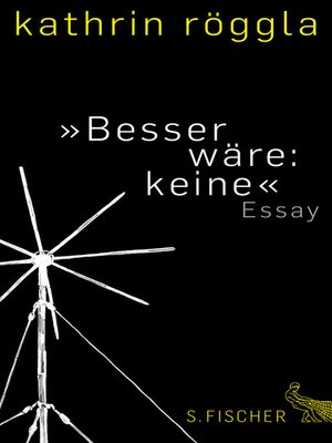 cover image of »Besser wäre