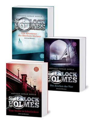 cover image of Sherlock Holmes Band 1-3