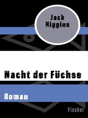 cover image of Nacht der Füchse