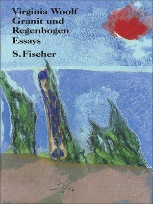 cover image of Granit und Regenbogen