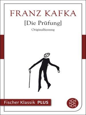 cover image of Die Prüfung